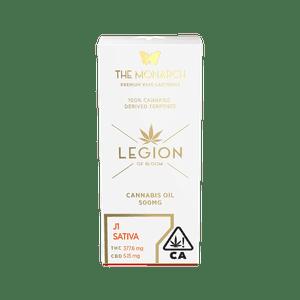 Legion of Bloom   Monarch .5 Gram Vape cartridge- J1