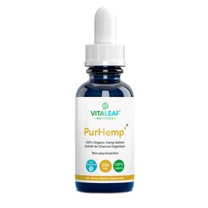Vitaleaf Naturals   PurCBD+ Full Spectrum PhytoCannaBinoiD Oil 250mg