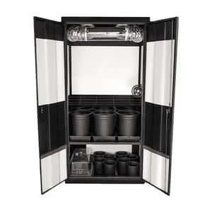 Super Closet   Deluxe 3.0 HPS Soil Grow Cabinet