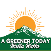 Logo for A Greener Today - Walla Walla