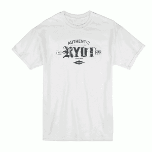 RYOT®    RYOT® Authentic TRD MRK Tee Shirt in White