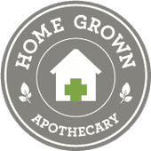 Logo for Home Grown Apothecary