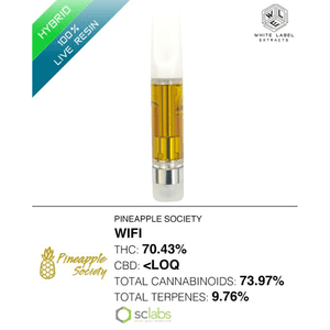 White Label Extracts   WiFi | Live Resin Cartridge (1g)