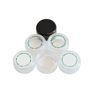Cannaline   5ML Polystyrene Containers for 1 Gram