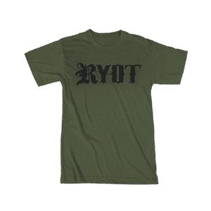 RYOT®   RYOT® Tee Shirt in Military Green