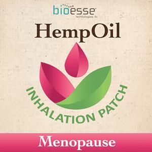 Bioesse Tech   Hemp Oil Menopause Inhalation Patch