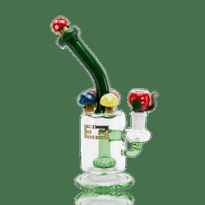 """Stash Lab Technologies   8.5"""" Mushroom Kingdom Themed Bong"""