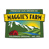 Logo for Maggie's Farm in Canon City