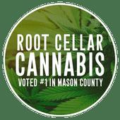 Logo for Root Cellar Cannabis