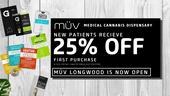 MUV - Longwood (NOW OPEN)