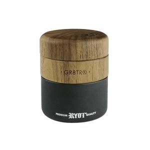 RYOT®   RYOT® Wood GR8TR® with Matte Black Jar Body and Walnut Top