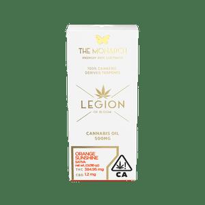 Legion of Bloom   Monarch .5 Gram Vape cartridge- Orange Sunshine