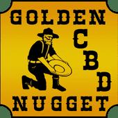 Logo for Golden Nugget CBD