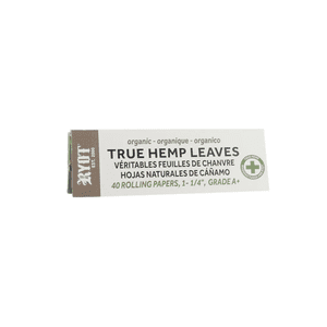 """RYOT®   RYOT® 1 1/4"""" Unbleached 100% Pure Hemp Pulp Rolling Papers - NOT A CRIME"""