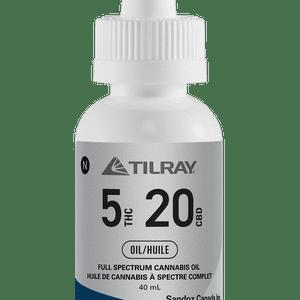 Tilray   Tilray 5:20 CBD Oil