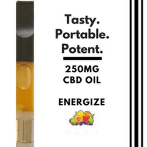 Pure MediCanna CBD   1 Gram CBD Vape Cartridge - Energize