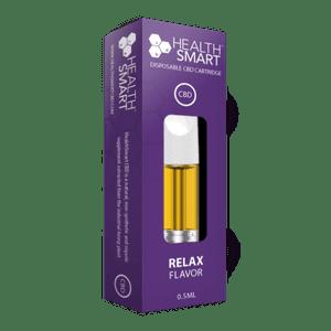 HealthSmart CBD   CBD Vape Cartridge (200mg) - Relax