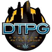 Logo for DTPG - Downtown LA