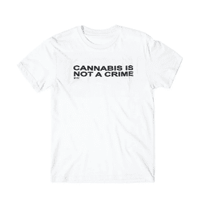 RYOT®   RYOT® NOT A CRIME Tee Shirt in White