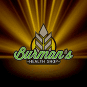 Logo for Burman's Health Shop | CBD Oil Store