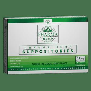 Pharma Hemp Complex   CBD Oil Suppositories - 25mg CBD Oil 5ct.