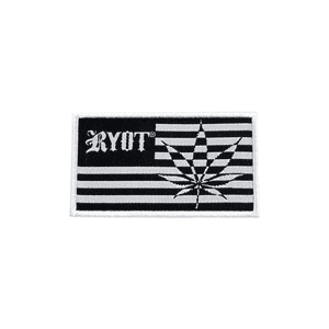 RYOT®   RYOT® 3-inch Merrow Patch with FLAG Graphic