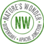 Logo for Nature's Wonder Dispensary - Apache Junction