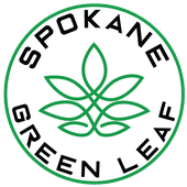 Logo for Spokane Green Leaf