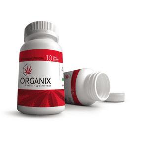 Organix Herbal Supplements   Maximum Strength Capsules