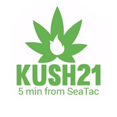 Logo for Kush21 - SeaTac Airport