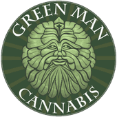 Logo for Green Man Cannabis - Downtown