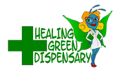 Logo for Healing Green