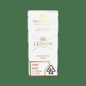 Legion of Bloom   Monarch .5 Gram Vape cartridge- Cinex