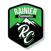 Logo for Rainier Cannabis - Mountlake Terrace
