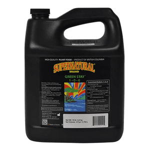 Supernatural Brand   GREEN STAY® 1-0-0