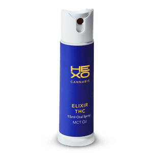 HEXO   Elixir THC MCT Oil Oral Spray