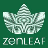 Logo for Zen Leaf - Waldorf