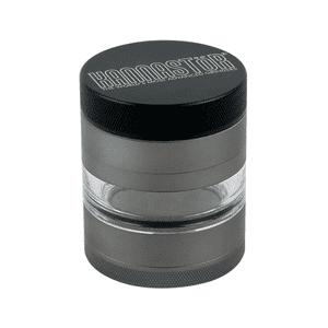 """Kannastör®   2.2"""" Kannastör® 4pc Grinder/Jar in GUNMETAL"""