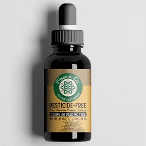 Flower Of Life Organic Cannabis   750 MG THC MCT Oil