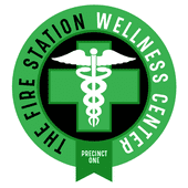 Logo for The Fire Station Wellness Center