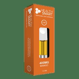 HealthSmart CBD   CBD Vape Cartridge (400mg) - Mango