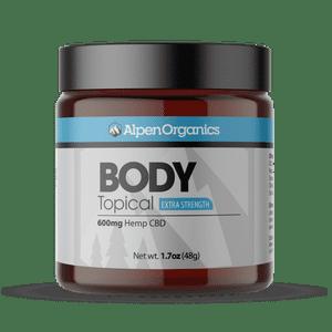 Alpen Organics   Alpen Organics Body (Topical) 600mg