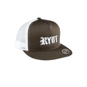 RYOT®   RYOT® Classic Trucker Two-Tone Hat in Brown