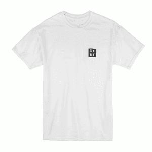 RYOT®   RYOT® Logo POCKET Tee Shirt in White