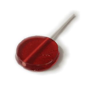 TOP LEAF   CBD Lollipop 50mg - Raspberry Lemon / Grape / Strawberry Banana