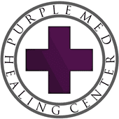 Purple Med Healing...
