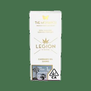 Legion of Bloom   Monarch 1Gram Vape cartridge- Hawaiian Purple Kush