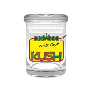 Cannaline   Kush Re-Writable Stash Jar for 1/8 Oz.
