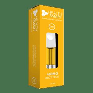 HealthSmart CBD   CBD Vape Cartridge (400mg) - Juicy Fruit
