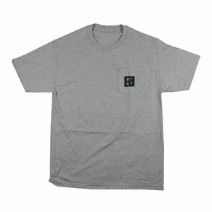 RYOT®   RYOT® Logo POCKET Tee Shirt in Athletic Heather